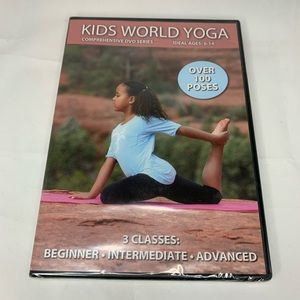 Other - NEW Kids World Yoga Comprehensive DVD Series